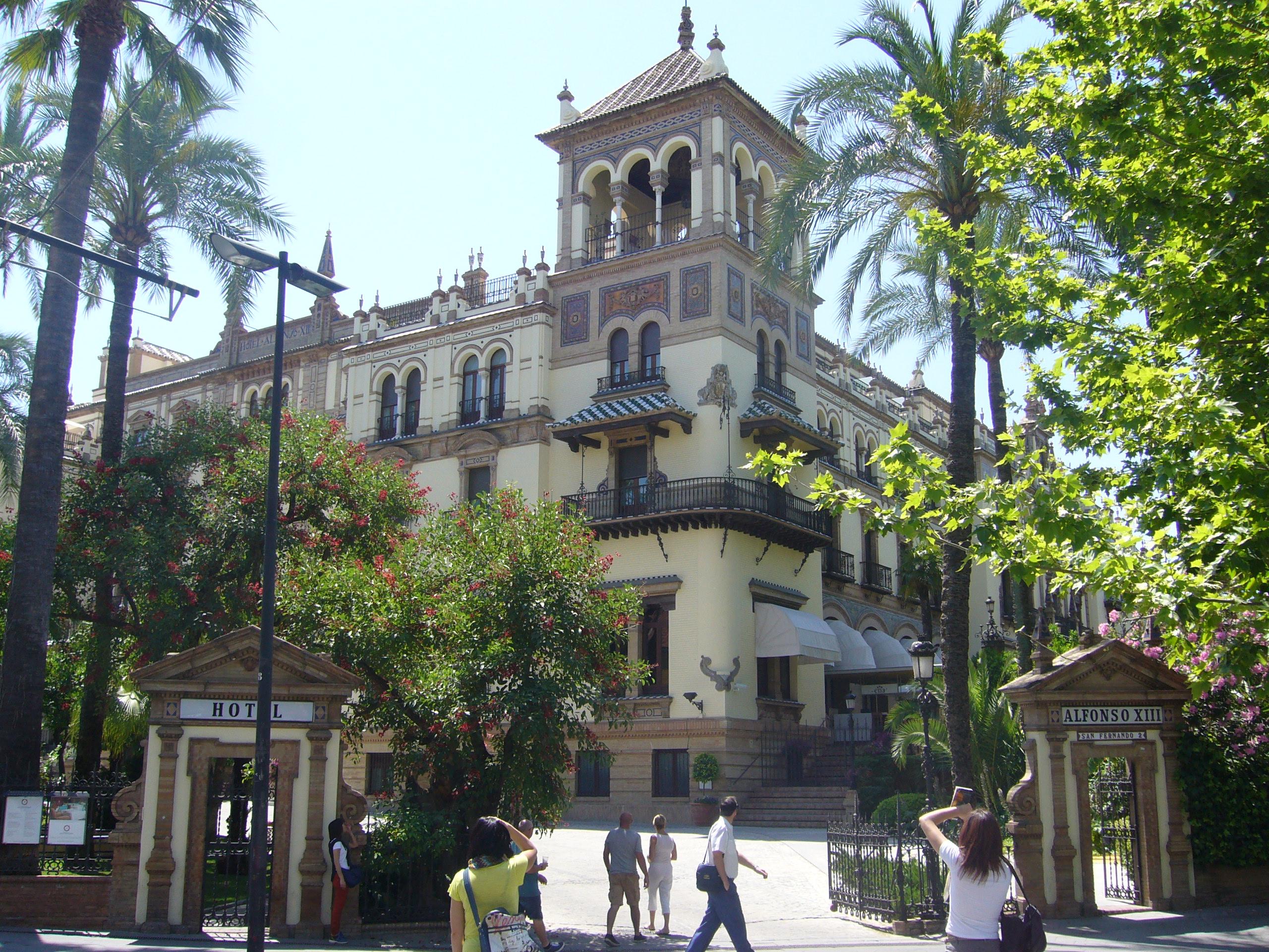 Hotel alfonso xii sevilla organiza eventos el portal for Hotel calle sevilla madrid